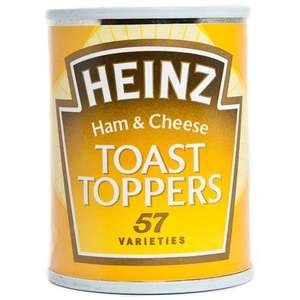 Heinz Toast Toppers 2 for £1 at Poundland