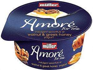 Muller Amore Yogurt (150g) 60p each or 4 for £1 @ Morrissons