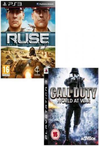 Call of Duty: World At War + R.U.S.E Bundle (PS3) - £17.99 + £1.99 Delivery @ Sendit
