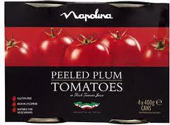 Napolina Peeled Plum Tomatoes (4 Pack) Half Price @ Morrisons