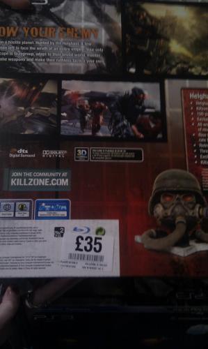 Killzone 3: Helghast Special Edition Pack - £35 @ HMV (Instore, Edinburgh)