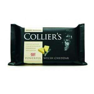 Colliers Powerful Welsh Cheddar, 400grm for £2   @ Tesco