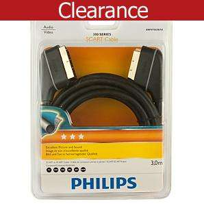 Philips Gold Scart Lead instore Asda £4.25