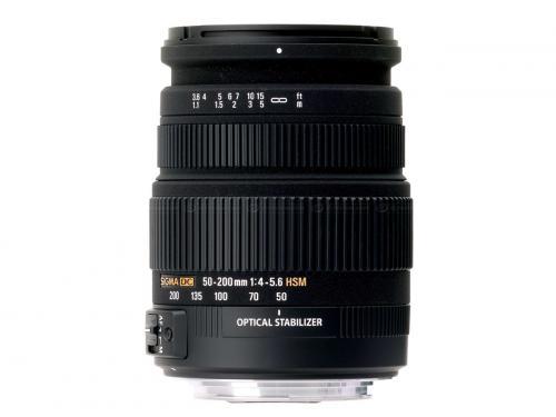 Sigma 50-200mm f4-5.6 DC OS HSM - For Nikon - £103.49 - Cameraworld