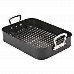 Tu Non-stick Roasting Tin and Rack was £16 now £8 @ sainsburys