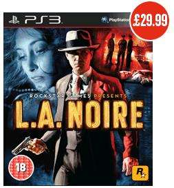 La Noire Xbox & PS3 game - yippeee! £29.99 @ Bestbuy