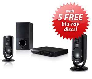 LG HB44S 2.1 Blu-ray Package System inc. Speakers & 5 FREE BLURAYS £169.95 @ Richer Sounds