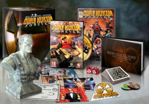 Duke Nukem Forever: Balls Of Steel PC - Collector's Edition £39.99 @ Blockbuster