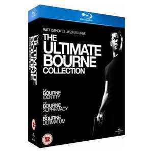 The Ultimate Bourne Collection (Blu-ray) - £14.39 (using code) Delivered @ HMV