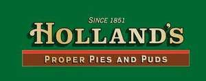 Hollands pies/puds now available in the south of England at Asda