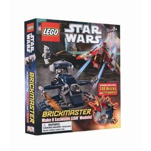 LEGO Star Wars Brickmaster (complete with 240 fantastic LEGO bricks and 2 Minifigures which make 8 models) £8.99 delivered @ Play