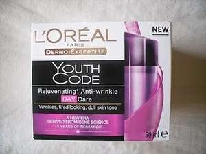 L'Oreal Youth Code Day now half price @ Argos *£7.49* - more half price l'oreal products available