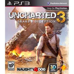 Uncharted 3 - HMV - £31.99 with code