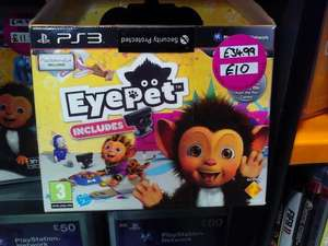 Eyepet (Game + Camera) PS3 for £10 @ HMV