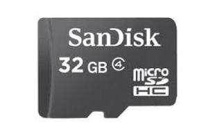 Sandisk 32GB Micro SD Card from lowpricememory 42.95 delivered @ lowpricememory.co.uk