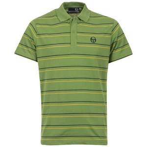 Men's Sergio Tacchini Fightclub Polo T-shirt (Green) £6.79 @ The Hut (with code)