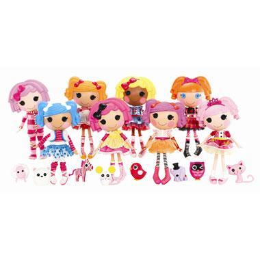 All lalaloopsy dolls now £18.49 (big) @ Smyths