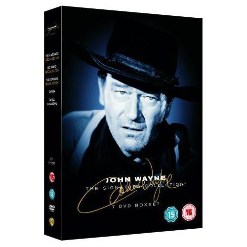 The Signature Collection: John Wayne (DVD) (7 Discs) - £7.85 Delivered @ Zavvi