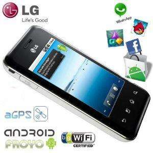 LG Optimus Chic E720 – Android 2.2 / Capacitive Multi-touch / WiFi / GPS / Sim-Free / 5MP Camera - £132 Delivered @ iBood