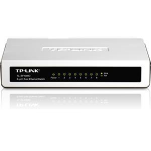 TP-Link TL-SF1008D 8-port 10/100M mini Desktop Switch (£7.99 - Play.com)