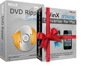 Free WinX DVD Video Converter Pack for Mac