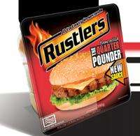 Free Rustler's Quarter Pounder Burger