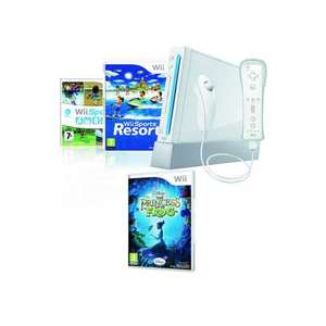 Wii Console with Wii Sports, Wii Sports Resort with Wii MotionPlus, The Princess & The Frog game, Wii remote + nunchuck only £88.94 delivered @ Bargain Crazy