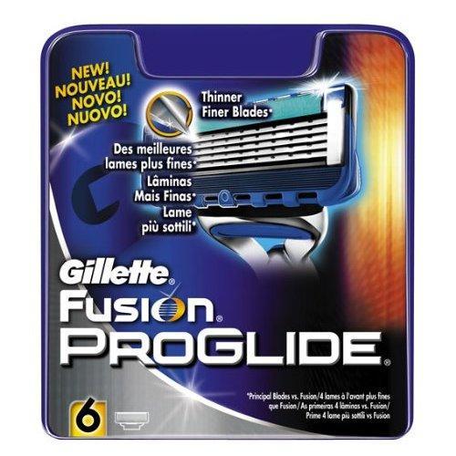 Gillette Fusion ProGlide Manual Razor Blades 6-Pack £10.99 from Amazon