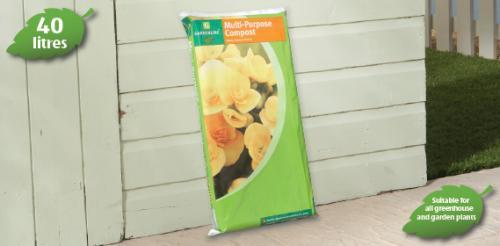 General Purpose Compost 40 litres £1.99 @ Aldi