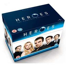 Heroes: Complete Seasons 1-4 (Blu-ray) (19 Discs) - £41.58 (using code MOREPM60) @ Price Minister Sold by Gzoop