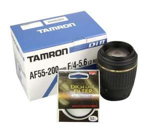 Canon EF mount Tamron lens. 55-200mm. £79.99 @ Dixons.co.uk
