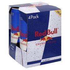 Red Bull Energy Drink 4 X 250ML £2.99 @ Tesco