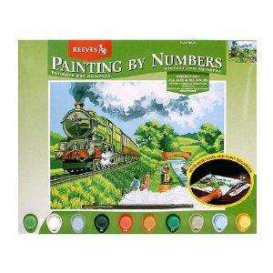 Oasis - Senior Paint By Numbers Train - £1.63 delivered @ Amazon