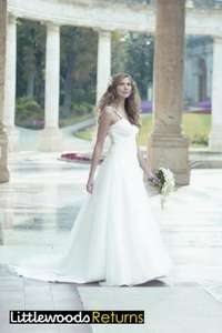 Nicholas Millington Organza Blossom Wedding Dress Sz 8 - now only £49.99 delivered at eBay Littlewoods Outlet