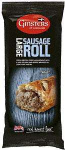 Ginsters Large Sausage Roll (140g) was £1 now BOGOF @ Sainsburys