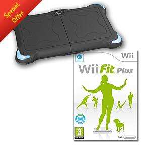 WII FIT+ AND BLACK CROWN BALANCE BOARD PACKAGE - ASDA DIRECT £54.97 DELIVERED ▐◄♣▓