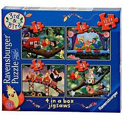 3rd & Bird 4 in a Box Puzzles £2.49 - Half Price @ Sainsburys