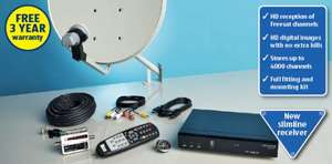 Aldi - Free to Air HD Satellite Kit   £69. 99  each