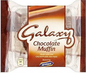 McVitie's Galaxy Muffin 52p at Tesco