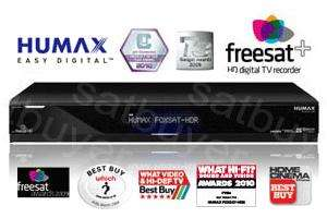 Humax FOXSAT-HDR Freesat+ PVR 320GB **Grade A** Refurb £180 Del -  - From Satbuyer