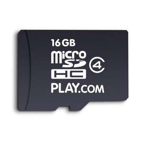 16GB Micro SDHC Memory Card  (Class 4) £12.49 @ Play.com
