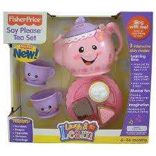 Fisher Price Laugh N Learn Say Please Tea Set £7.00 Tesco instore