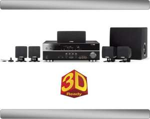 Yamaha YHT294 5.1 AV Receiver and Speaker System 3D ready 1.4hdmi £199.99 @ BestBuy
