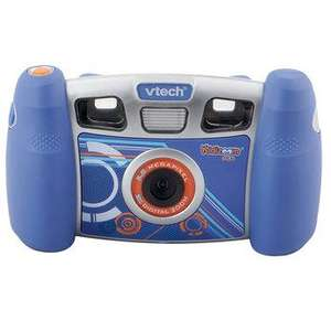 VTech Kidizoom Plus Camera - Blue & Pink - £24.97 (was £49.97) - Toys R Us - Click & Collect