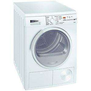 Siemens WT46E384GB Sensor Condenser Tumble Dryer, White - £399 incl free 5yr Warranty + Delivery @ John Lewis