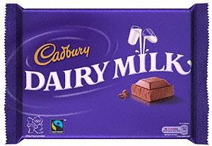 Cadbury Dairy Milk Chocolate Fairtade (400g), Cadbury Dairy Milk Fruit & Nut Bar (400g) & Cadbury Dairy Milk Whole Nut Bar (400g) £2 at Tesco & Asda
