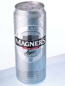 Magners Light Cider 4 x 500ml cans (less than 100 calories a can) for £3.50 instore @ Home Bargains