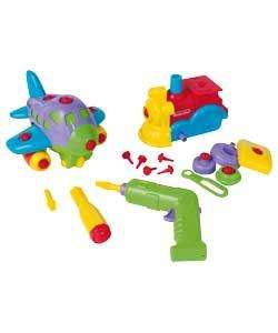 Chad Valley Build and Play Vehicles (was £12.99) Now £4.99 at Argos