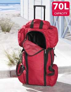 Sports & Travel Bag - 70 Litre Capacity £9.99 at Lidl