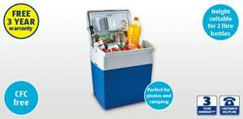 Electric Cool box (approx 30L capacity) £34.99 @ Aldi